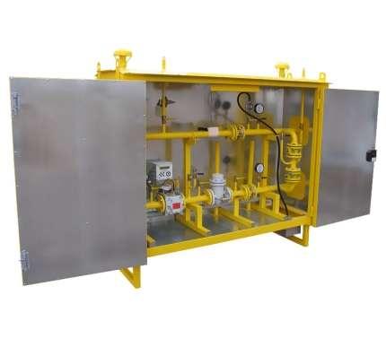 Пункт учёта газа серии ПУГ-ШУГО(ШУЭО)-400-Р
